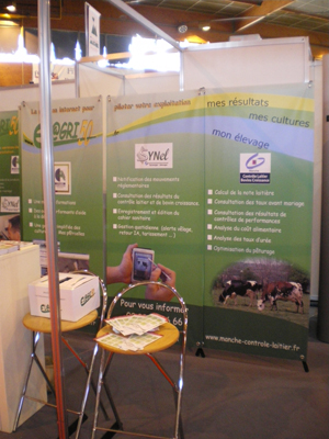 Twin world for Chambre agriculture manche